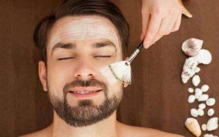Пилинги для мужчин: чистая и здоровая кожа