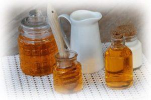 ингридиенты пилинга с овсянкой и медом