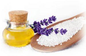 масло и соль для пилинга
