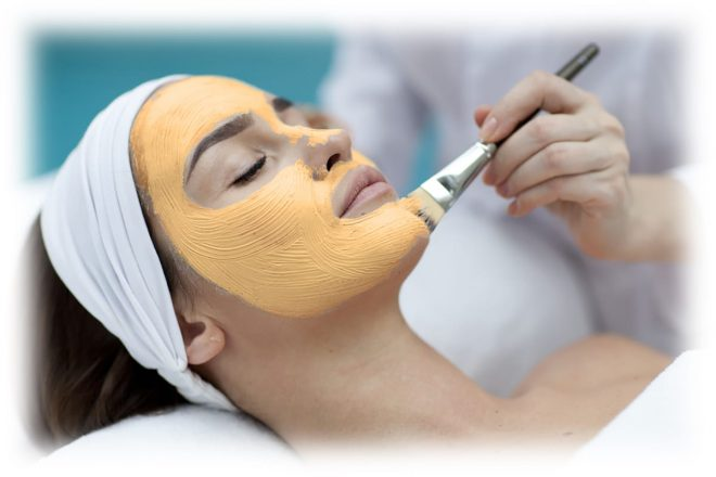 процедура тыквенного пилинга лица в салоне