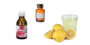глицерин, касторка, сок илмона