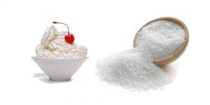 сливки и соль