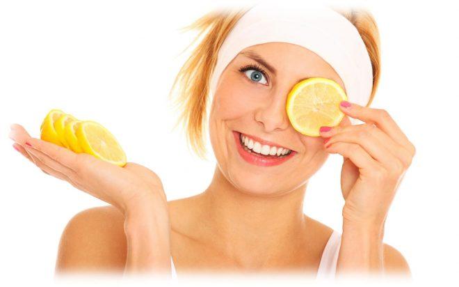подготовка к лимонному пилингу