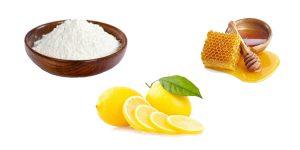 сода, мед и лимон