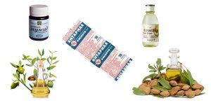 экстракт авокадо, миндальное масло, жожоба, янтарная кислота