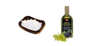 белая глина и эфирное масла виноградных косточек
