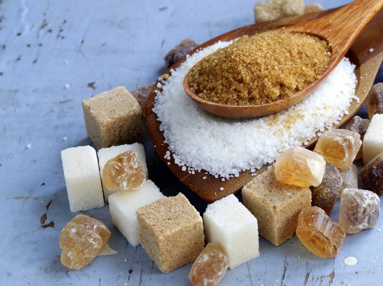 Сахарный пилинг для пяток