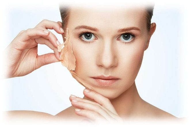 эффект от пилинга на лице