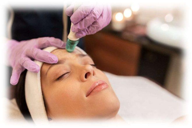 пилинговая процедура для лица в салоне