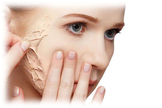 Молодое лицо с проблемами кожи