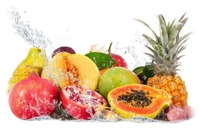 ассорти экзотических фруктов