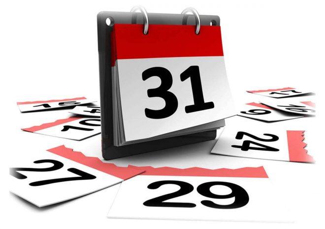 календарь, число, 31, дата